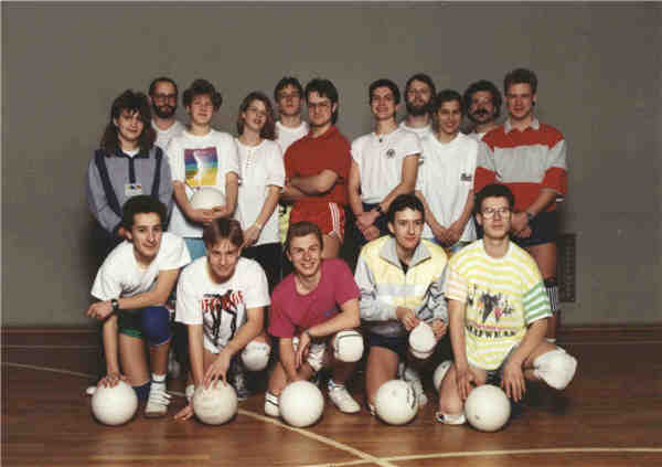 Volleyballer 1991