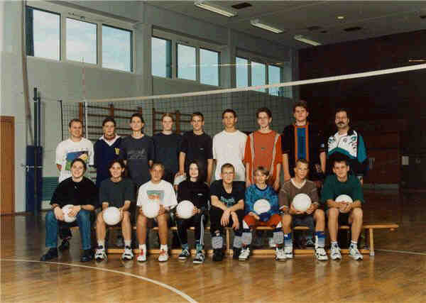 Volleyball Jugend 1990