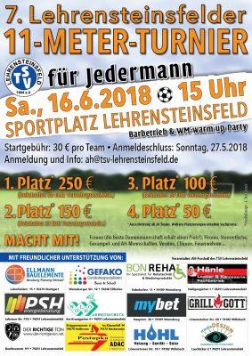 7. Lehrensteinsfelder 11-Meter-Turnier