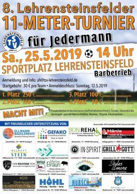 8. Lehrensteinsfelder 11-Meter-Turnier für Jedermann